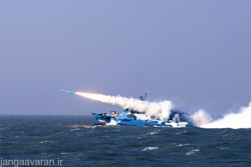 شلیک موشک ضد کشتی سی 803