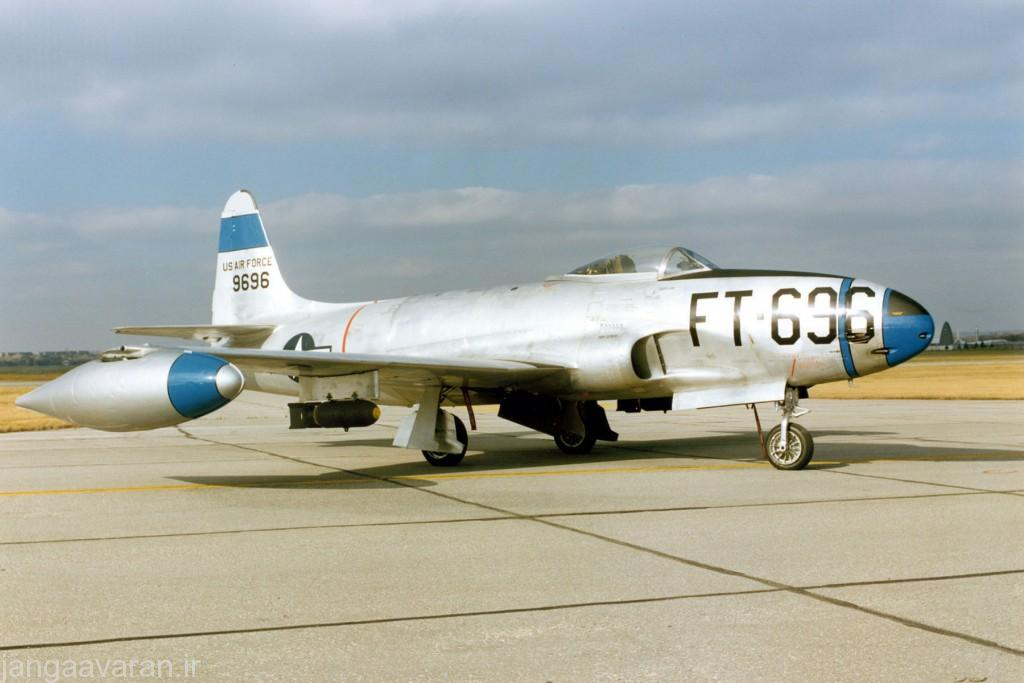 DAYTON, Ohio -- Lockheed F-80C at the National Museum of the United States Air Force. (U.S. Air Force photo)