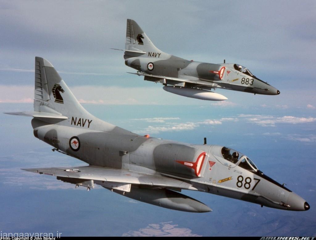 جنگنده تهاجمی A4 اسکای هاوک