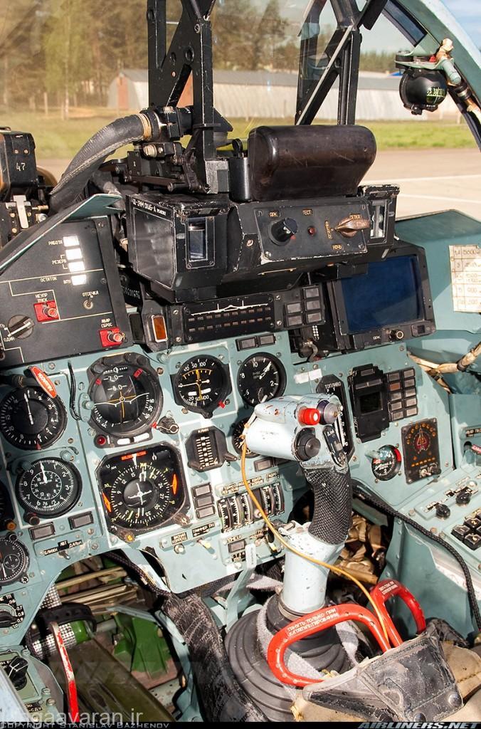 کابین سوخو27 پی که در سال 1987 عملیاتی شد