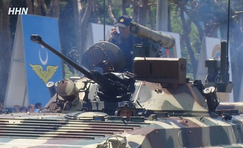 بی ام پی 2 ام ارتقا یافته توسط اسرائیل مجهز به سایت اتش جدید