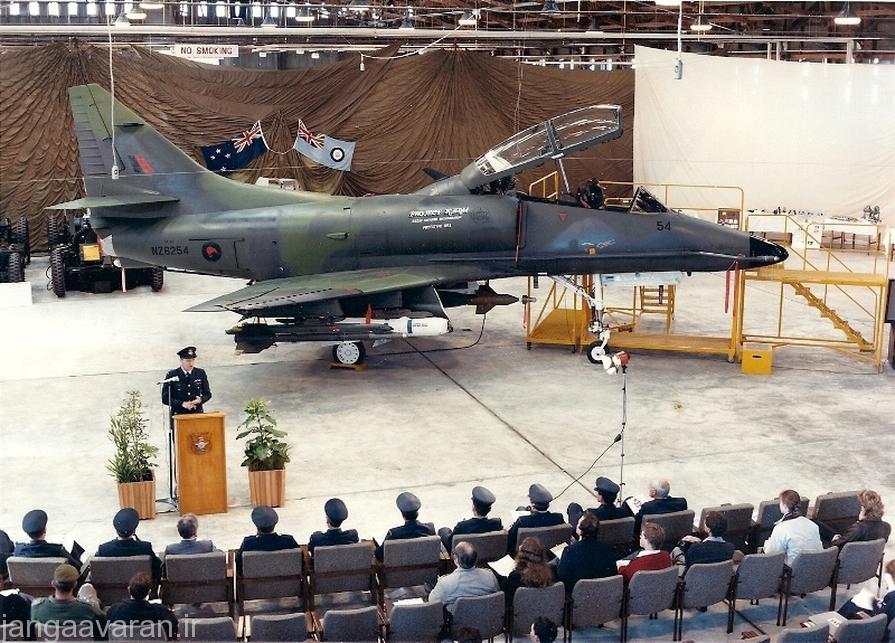 جنگنده تهاجمی ای4 اسکای هاوک