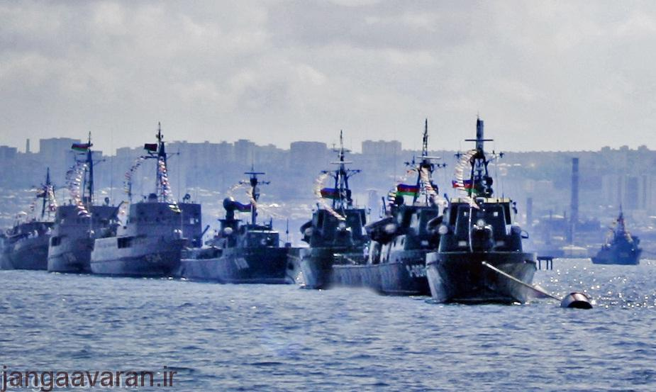 Azeri_navy_in_port