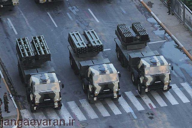 راکت انداز اسرائیل Lynx در چند کالبیر مختلف