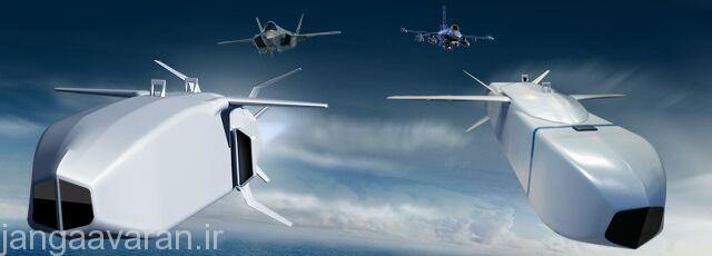موشک کروز SOM معمولی که هم اکنون عملياتی است در سمت راست و موشک SOM-J که با همکاری لاکهيد مارتين مخصوص F-35 در حال توسعه است