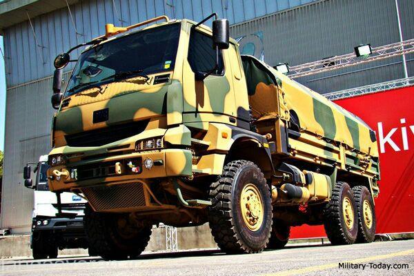 کاميون BMC-380 26B ارتش ترکيه
