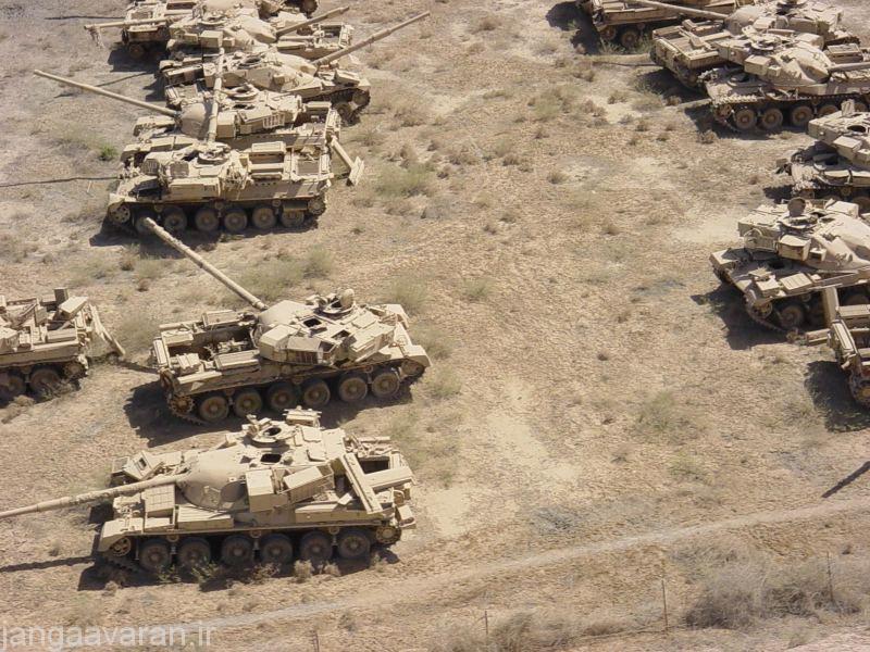 چیفتن های غنیمتی در عراق