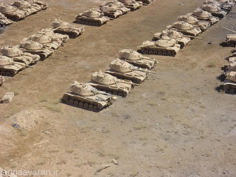 ام 48 و 60 غنیمتی در عراق