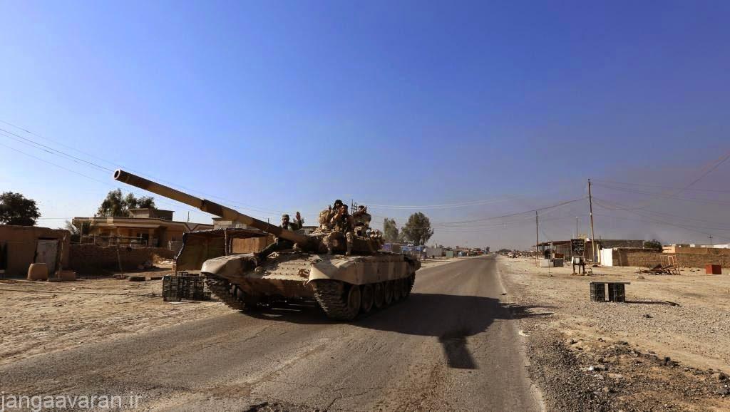 تی 72 ایرانی بدون زره واکنشی سال پیش در عراق