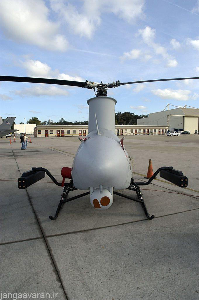 بالگرد بدون سرنشین MQ-8 فایر اسکات