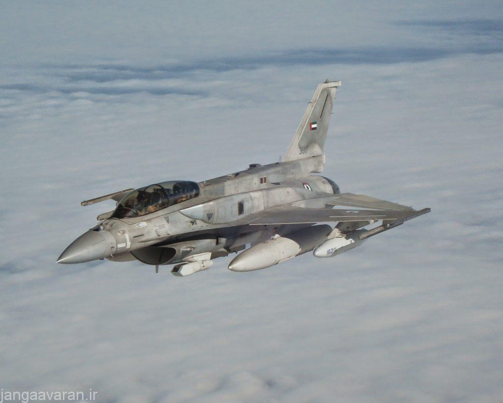25 فروند از 80 فروند اف16 امراتی نسخه دو سرنشین هستند که برای عملیات تهاجمی و تهاجم شبانه موثر تر هستند
