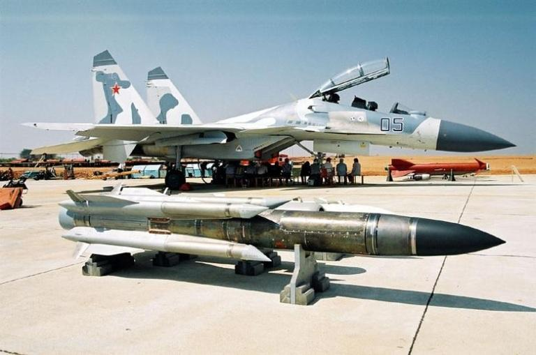 Irkut-Su-30KN-Kh-31P-1