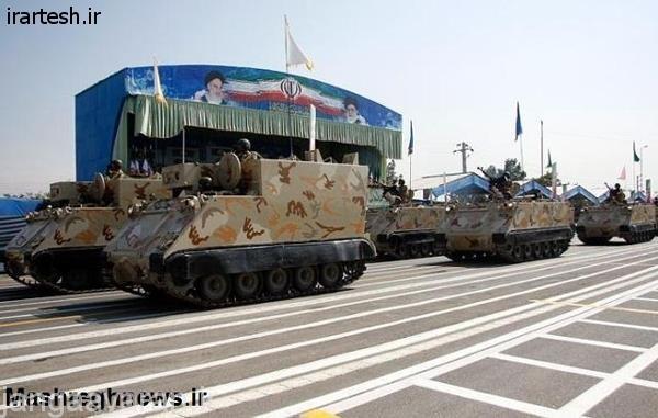 نفربرها و تانک های سبک موجود درنیروی های مسلح ایران