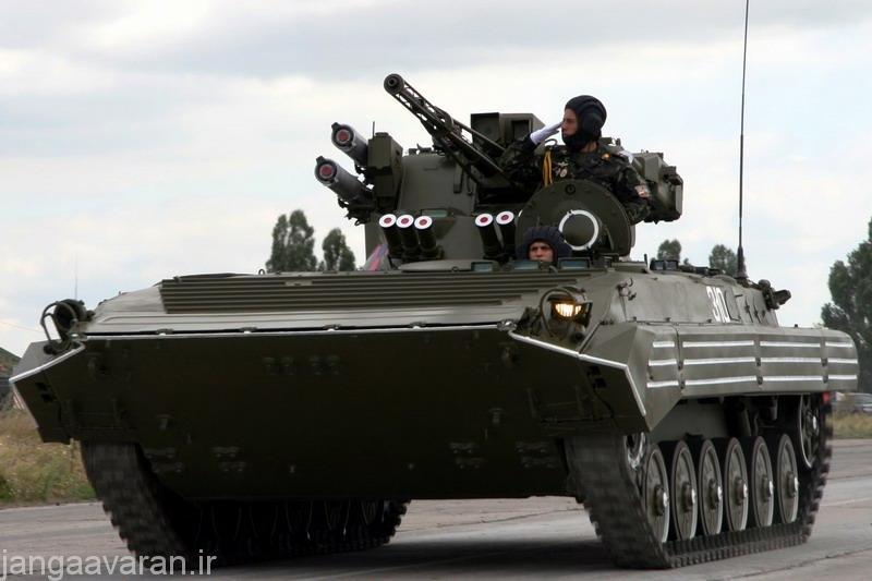 ارتقا اکراینی روی ابی ام پی 1 که شامل توپ30 م م و موشک کونکورس است