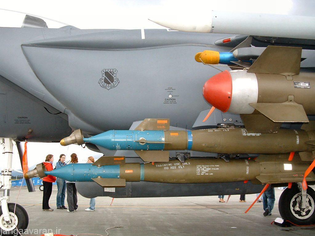 ئو بمب هدایت لیزری، غلاف، بمب هدایت اپتکی زیر بال و سایدواندر