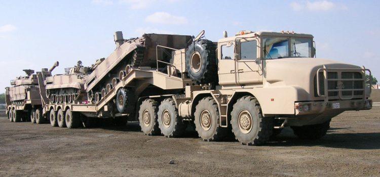 تانک برهای  طرح MZKT-74135 و MZKT-741351
