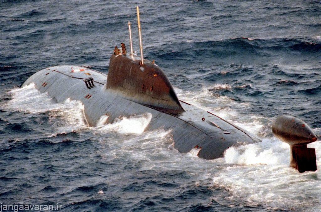 زیر دریایی اتمی کلاس اکولا