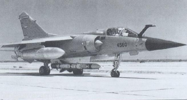 میراز اف1 توان حمل موشک ضد کشتی داشت توانی که دو جنگنده دیگر نداشتند