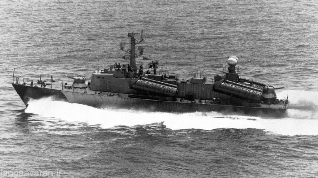 قایق موشک انداز تندرو اوسا ساخت شوروی
