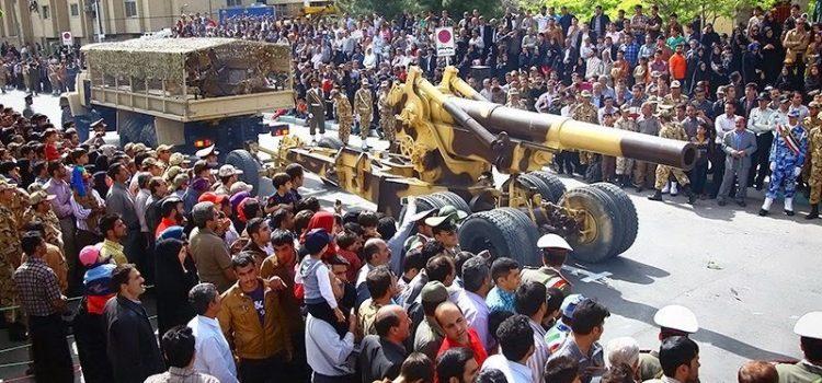 توپ ها و راکتهای توپخانه ای ایران