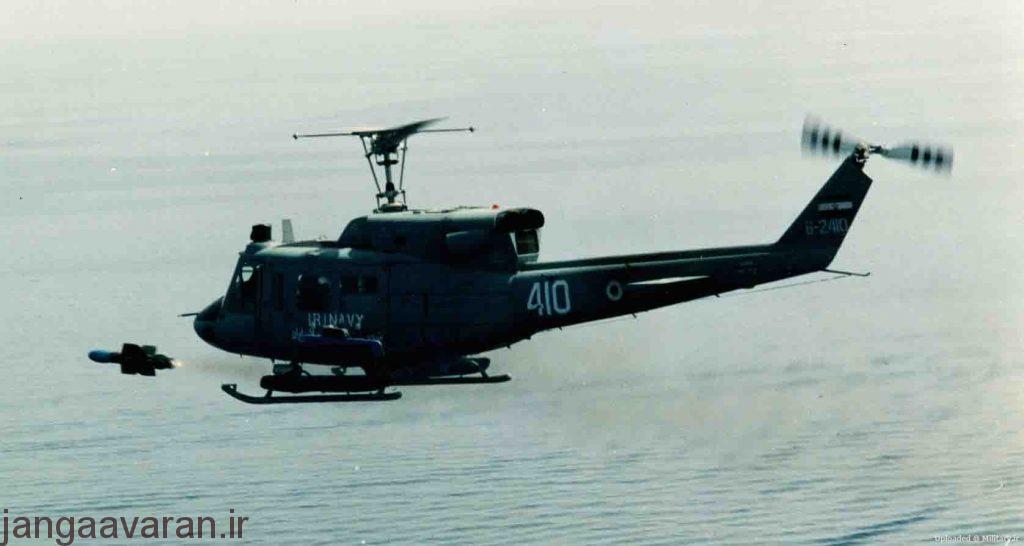 بل 212 نیروی دریایی و موشک ای اس 12