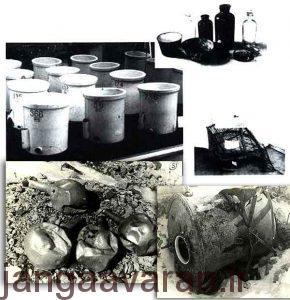 میکروبها و وسیله های ابداعی پخش این عوامل توسط واحد 731