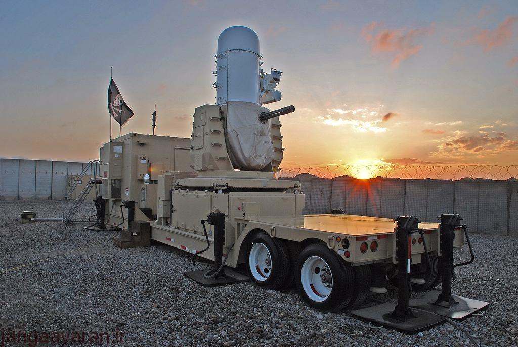 تصویری از سامانه Centurion C-ram مستقر شده در عراق.
