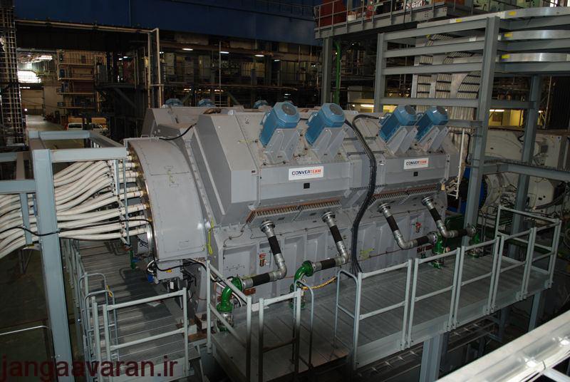 موتور القائی تحت نام AIM که ساخت شرکت کانورتیم از زیر مجموعه های جنرال موتورز میباشد. این موتور پس از دریافت الکتریسیته وظیفه چرخاندن پروانه کشتی را بر عهده دارد.