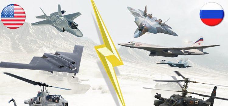 بررسی تجهیزات نیروی هوایی روسیه و نیروی هوایی امریکا