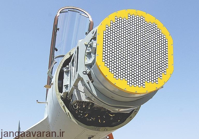 بررسی برترین رادار های جهان، نصب شده بر روی جنگنده ها