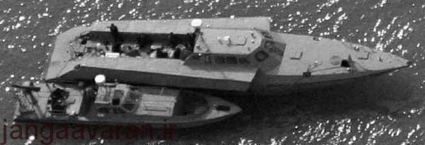 ناوهای جنگی و شناورهای مسلح موجود در ایران