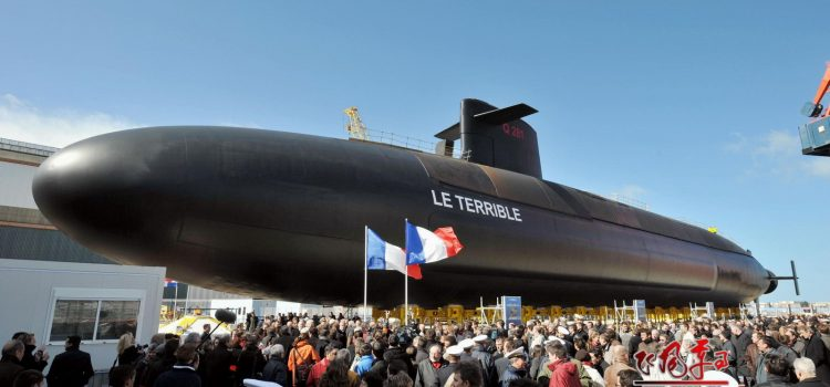 زیر دریایی اتمی کلاس تریومفانت