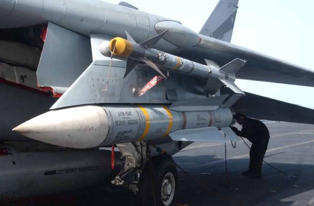 تسلیحاتی که تاکنون توسط اف14 تامکت حمل شده است!