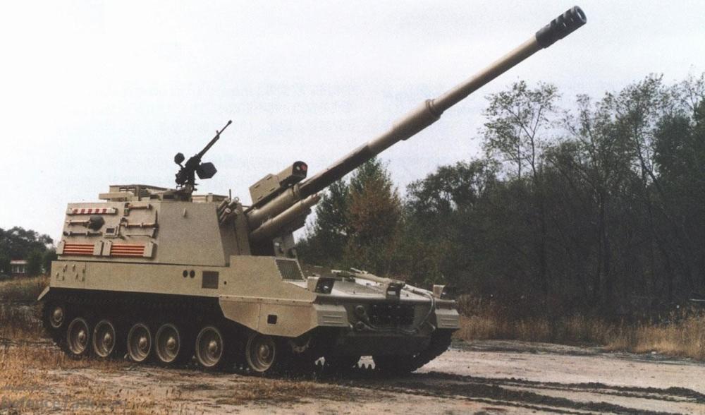هویتزرخودکششی 155 میلیمتری PLZ-45