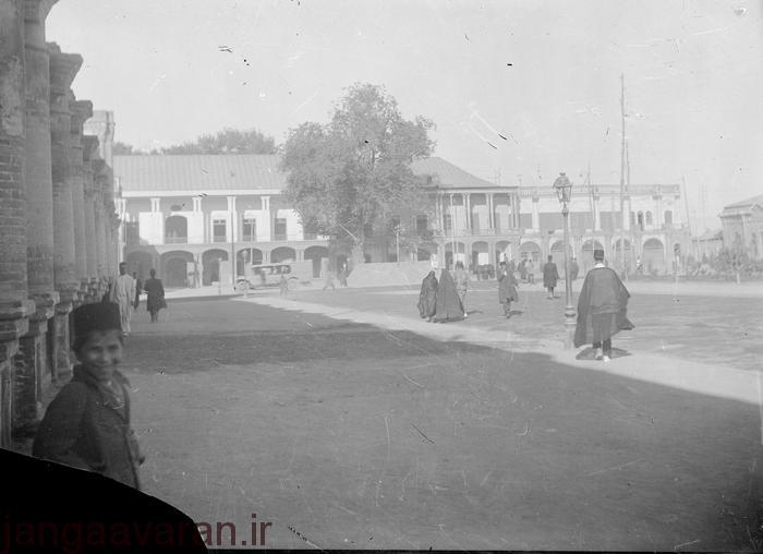 ساختمان نظمیه در دوره قاجار
