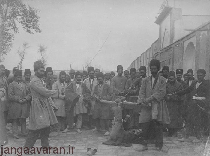 مجازات محکومین در دوره قاجار