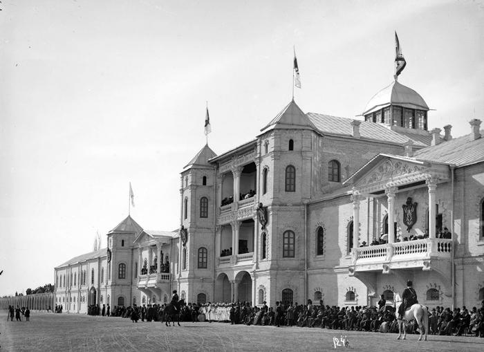 ساختمان قدیمی مجلس شورای ملی که به دست میرزا حسین خان سپهسالار ساخته شده بود