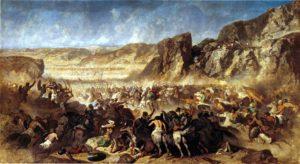 نبرد کوناکسا که اولین جنگ داخلی هخامنشیان بود