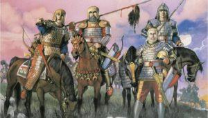 تصویر خیالی از کاتافراکت ها یا سواران سنگین اسلحه ساسانی که برای قرن ها کابوس امپراتوری بیزانس بودند