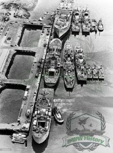 اسکله پایگاه یکم نیروی دریایی در بندر انزلی
