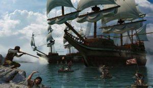 تصویری از بازی میرمهنا که سبک حمله او به کشتی های اروپایی را نشان می دهد. در سال های اخیر شخصیت و مبارزات میرمهنا مورد توجه قرار گرفت و بازی ویدیویی از زندگی او ساخته شد.