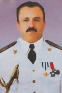 دریابان غلامعلی بایندرفرمانده نیروی دریایی ایران که در حمله متفقین در شهریور 1320 به همراه 600 نفر دیگر به شهادت رسید