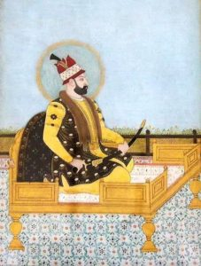 تصویر نادرشاه در دوره این پادشاه نیروی دریایی ایران بعد از قرن ها جانی دوباره گرفت