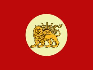 پرچم ایران در دوره آغامحمدخان