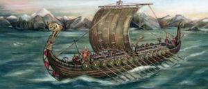 کشتی وایکینگ ها که برای سه قرن باعث وحشت جهان شدند و حتی ایران هم از دست آنها در امان نماند