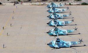 بخشی از یگان هوادریای نیروی دریایی ایران(البته عکس مربوط به سال های اخیراست)