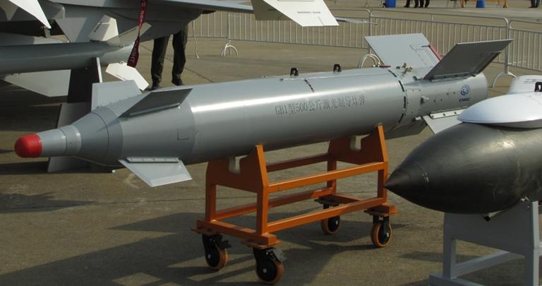 بمب های هدایت شونده ساخت چین