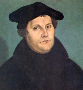 مارتین لوتر. ظهور او سرآغاز جنگ های مذهبی در اروپا شد
