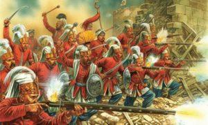 سربازان ینی چری علی رغم اینکه عامل پیروزی عثمانی در بسیاری جنگ ها بودند اما بارها برضد سلاطین عثمانی شورش کردند.