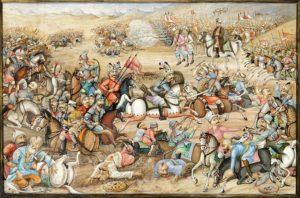 نقاشی منصوب به نبرد خونین چالدران